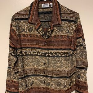 CHICO'S UNLINED JACKET SIZE IN U.S. SIZE SMALL